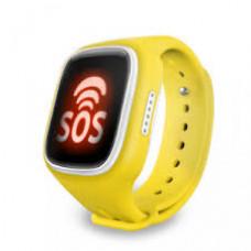 Детские часы с GPS трекером MonkeyG S80 Yellow