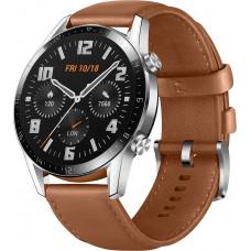 Умные часы HUAWEI Watch GT 2 Classic 46мм, коричневая галька