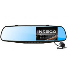 Видеорегистратор с двумя камерами INTEGO VX-430MR