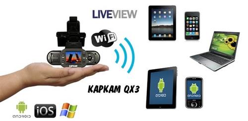 Видеорегистратор Каркам QX3 Neo обзор